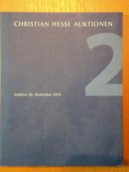 AUKTION 20,NOVEMBER 2010-CHRISTIAN HESSE