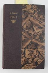 BALADE SI IDILE 1883 - 1890 / FIRE DE TORT de GEORGE COSBUC , 1927 , COLEGAT DE DOUA CARTI *