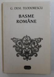 BASME ROMANE - culegere de G. DEM . TEODORESCU , 1996