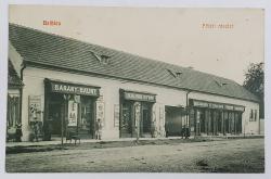 Beclean / Bethlen , vedere din piata centrala