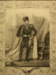 Bibescu Voda, Lithografie 1843