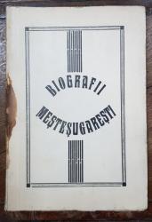 BIOGRAFII MESTESUGARESTI de D. DAMIAN - BUCURESTI, 1940