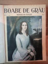 Boabe de grau Revista de cultura,pe anul 1934