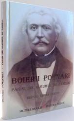 BOIERII POENARI, PAGINI DIN ALBUMUL DE FAMILIE de GHENA PRICOP , 2009