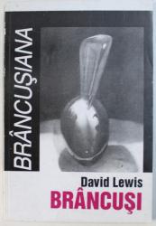 BRANCUSI  de DAVID LEWIS , 2001