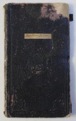 CAET DE CURSURI , ELIBERAT DE RECTORATUL UNIVERSITATII DIN CLUJ , FACULTATEA DE FILOSOFIE SI LITERE,  1920 , PREZINTA HALOURI DE APA*