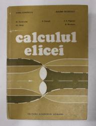 CALCULUL ELICEI de HORIA DUMITRESCU ...B. NICOLESCU , 1990
