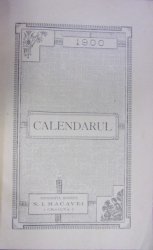 CALENDARUL OLTENIEI (1900)