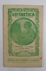 CARTE DE ARITMETICA PENTRU CLASA II -A PRIMARA . lucrata de S. SPULBEREANU... I. POPESCU  - TEIUSAN , 1935