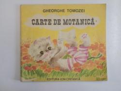 CARTE DE MOTANICA de GHEORGHE TOMOZEI 1985