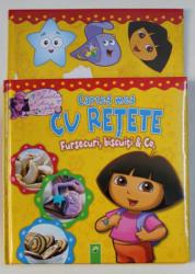 CARTEA MEA CU RETETE - FURSECURI , BISCUITI & CO . , 2013