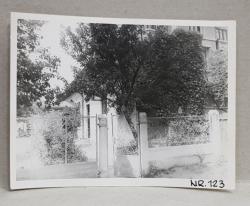 CASA DEMOLATA , STR, SEBASTIAN NR. 123  , BUCURESTI, FOTOGRAFIE MONOCROMA, PE HARTIE LUCIOASA , ANII '70  - '80