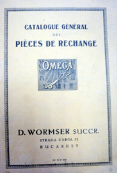 CATALOGUE GENERAL DES PIECES DE RECHANGE,1926