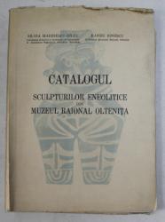 CATALOGUL SCULPTURILOR ENEOLITICE DIN MUZEUL RAIONAL CONSTANTA de SILVIA MARINESCU - BILCU si BARBU IONESCU