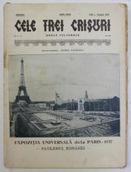 CELE TREI CRISURI  - ANALE CULTURALE , AANUL XVIII , IULIE - AUGUST 1937