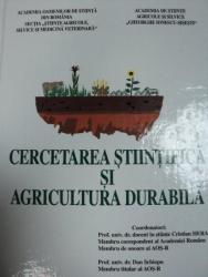CERCETAREA STIINTIFICA SI AGRICULTURA DURABILA, BUC.2001