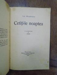 Cetiti-le noaptea, Bucuresti 1930, cu dedicatia autorului