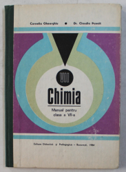 CHIMIA - MANUAL PENTRU CLASA a - VII - a de CORNELIA GHEORGHIU , CLAUDIA PANAIT , 1984