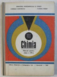 CHIMIA - MANUAL PENTRU CLASA A VII-A de CORNELIA GHEORGHIU si CLAUDIA PANAIT , 1992