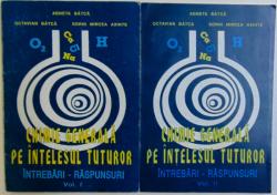 CHIMIE GENERALA  PE INTELESUL TUTUROR  - INTREBARI - RASPUNSURI , VOL. I - II de AGNETA BATCA ...SORIN MIRCEA AXINTE , 1995 - 1996