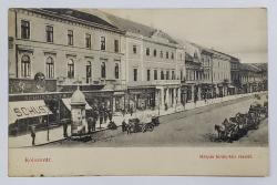 Cluj , vedere din centrul orasului
