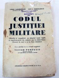 CODUL JUSTITIEI MILITARE-COSNT.LAZARONEANU,ION I.NEDELESCU