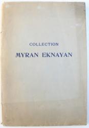 COLLECTION  MYRAN EKNAYAN  - CATALOGUE DES TABLEAUX ANCIENS ET MODERNES VENTE A PARIS , HOTEL DROUOT , 1931