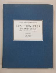 COMTE DE SALVERTE, LE EBENISTES DU XVIII SIECLE, SEPTIEME EDITION - PARIS, 1985
