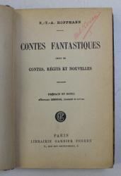 CONTES FANTASTIQUES - choix de CONTES , RECITS ET NOUVELLES par E. - T. -A . HOFFMANN , 1926