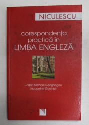 CORESPONDENTA PRACTICA IN LIMBA ENGLEZA de CRISPIN MICHAEL GHEOGHEGAN si JACQUELINE GONTHIER , 2007