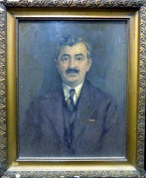 Costin Petrescu, Portret de barbat