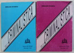 CRIMINALISTICA VOL. I - II ED. a - II - a de EMILIAN STANCU , 1997