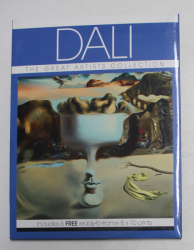 DALI  - THE  GREAT ARTISTS COLLECTION , INCLUDES 6 FREE READY - TO - FRAME 8 x 10 PRINTS , 2013