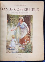 David Copperfield by Charles Dickens, traduit par Georges Duval, ilustrations de Frank Reynold - Paris, 1920