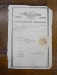 Departamentul visteriei, Tanase Hristea din corporatia baiangiilor, Bucuresti 1846