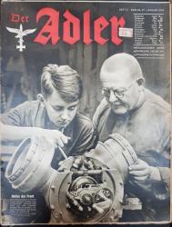 Der Adler, Nr. 2, 27 Ianuarie 1942