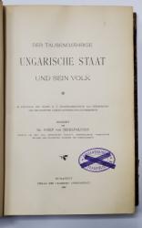 DER TAUSENDJAHRIGE UNGARISCHE STAAT UND SEIN VOLK von DR. JOSEF VON JEKELFALUSSY - BUDAPESTA, 1896