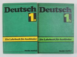 DEUTSCH - EIN LEHRBUCH FUR AUSLANDER , TEIL 1a- 1b, 1987