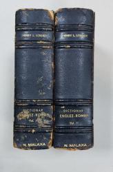 DICTIONAR ENGLEX-ROMAN, 2 VOL de HENRY L. LOLLIOT -  BUCURETI