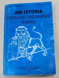 DIN ISTORIA LEGISLATIEI JANDARMERIEI ROMANE-VASILE MIHALACHE,IOAN P.SUCIU