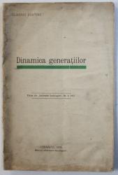 DINAMICA GENERATIILOR de CLAUDIU USATIUC , EXTRAS DIN
