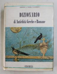 DIZIONARIO DI ANTICHITA GRECHE E ROMANE di ARISTIDE e MARIA CALDERINI , 1960