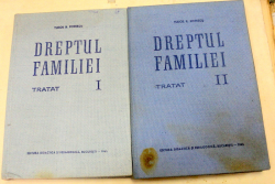 DREPTUL FAMILIEI TRATAT 2 VOLUME-PROF.UNIV.TUDOR R.POPESCU