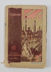 DURERI INABUSITE de MIHAIL SADOVEANU -  1921