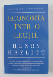 ECONOMIA INTR- O LECTIE de HENRY HAZLITT , 2021