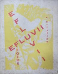 Efluvii, V. Cristian, cu dedicatia autorului catre Zambaccian, Bucuresti 1932