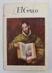 EL GRECO ( 1541 - 1614 ) , text by JOHN F. MATTHEWS , 1953