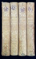 ELEMENS D'HISTOIRE GENERALE, HISTOIRE MODERNE par M. l'Abbe MILLOT, 4 VOL. - PARIS, 1817