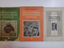 ENCICLOPEDIA INVENTIUNILOR TEHNICE VOL I , II , III de NIC. P . CONSTANTINESCU , 1939