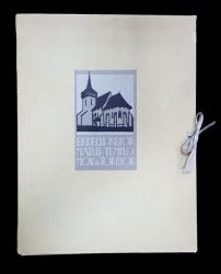 ERDELY. REFORMATUS. TEMPLOMOK es TORNYOK de Debreczeni Laszlo - CLUJ-NAPOCA, 1926